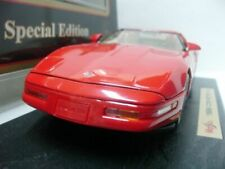 WOW EXTREMELY RARE Chevrolet Corvette C4 ZR-1 Targa/ Coupe 1996 Red 1:18 Maisto