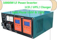 40000W/10000W LF Split Phase Pure Sine Wave 48VDC/110V,220VAC 60Hz PowerInverter