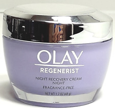 Olay Regenerist Fragrance-Free Night Recovery Cream Moisturizer - 1.7oz