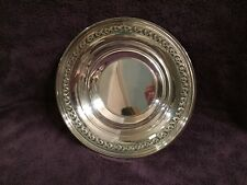 """Silver-plate Bowl - 10"""" Reed and Barton - 1204"""