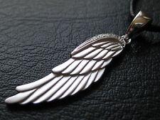 Flügel 925'er Silber rhodiniert Anhänger mit Zirkonias / KA 628