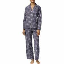 d3eaefd4e0 Alfani Womens Flannel Polka Dots Pajama Set Gray XXX-Large