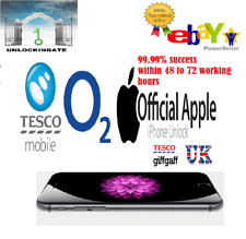 O2 Factory Unlocking Service for iphone 11 Xs Xr X 8 8 Plus 7 7+ 6s SE 6 5s 5c 5