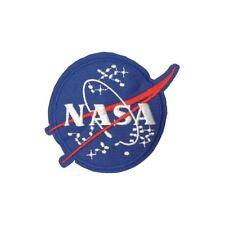 Nasa Logo Stars (Iron on) Embroidery Applique Patch Sew Iron Badge