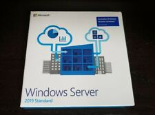 Microsoft Windows Server 2019 standard 10 CALS BRAND NEW