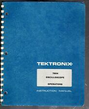 Original Tektronix Operators Manual for the 7904 Oscilloscope