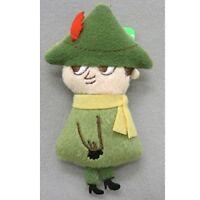 SEKIGUCHI Moomin Snufkin Small Plush Badge for Bag Pouch H9.3xW5xD1.8cm