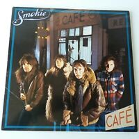 Smokie (Smokey) - Midnight Cafe - Vinyl LP Europe 1st Press 1976 A-1/B-1 EX/EX+