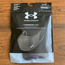 Under Armour Sports Mask M/L - Black - New in Sealed Bag