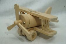 """Vintage Tonka Wooden Plane 10"""" by 8"""" by 5"""" FATHERS DAY"""