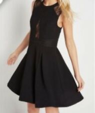 BCB Generation Lace Insert Skater Dress Size 12 (New With Tags) (RRP £110)