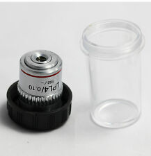 Microscope Objective LPL 4X / 0.10  Plan Achromatic Lens Objective RMS thread