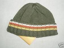 Gymboree MY LITTLE TREE HOUSE Green Stripe Sweater Hat NWT 6-12 Winter Fall