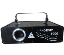 Phoenix 1000mW RGB Full Color ILDA DMX512 Club Party Amimation 1W Laser lighting