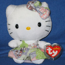 TY HELLO KITTY CAPITAL BEANIE BABY - MINT with MINT TAGS - NEW UK EXCLUSIVE