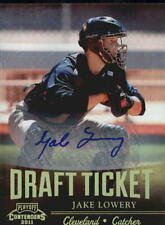 2011 Playoff Contenders Draft Ticket Autographs Baseball Card #DT29 Jake Lowery