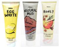 85g. Mistine Natural Facial Mask Honey Scrub Mud Egg White Peel Off Mask 3 Step