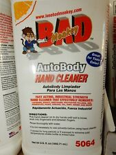 Bad Monkey Auto Body Hand Cleaner, 64 oz, Pump Orange Oil, Aloe Vera, Vitamin E