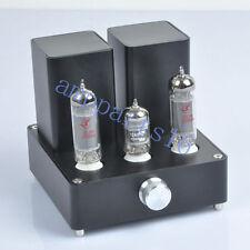 Black Mini Vacuum Tube AMP Audio Amplifier APPJ EL84 12AX7B Class A power Amp*1