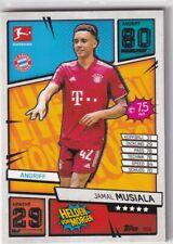 Match Attax 21/22 Bundesliga 2021/2022 Karte Nr. 306 Jamal Musiala Helden Morgen