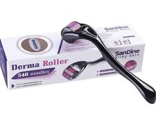 540 Micro Needle Derma Roller 0.25mm Titanium Anti-Aging Face Skin Tool