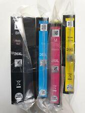 EPSON 26XL Genuine Black, Cyan, Magenta, Yellow - Set Of 4 Inks - Original! 26XL