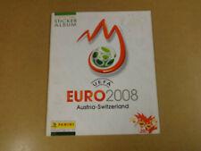 OFFICIAL STICKER ALBUM PANINI COMPLETE / UEFA EURO 2008 AUSTRIA-SWITZERLAND