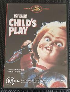 CHILD'S PLAY - THE ORIGINAL AND BEST VERSION.REGION 4 DVD + LANGUAGE OPTIONS.