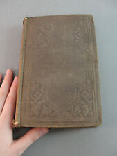 BISHOP BUTLERS ANALOGY OF RELIGION ROBERT EMORY G.R. CROOKS 1857 ANTIQUE BOOK
