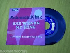 SOLOMON KING She wears my ring northern soul SPAIN edit (EX/EX) PROMO r♫re Ç