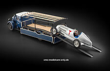 MERCEDES-BENZ Renntransporter lo 2750 carri #2 + w25 T-Car Bundle CMC m-164