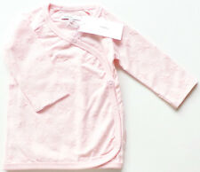 Wickel Shirt Gr.50 Noppies NEU hell rosa velour Herzen Jacke Frühchen baby SSV