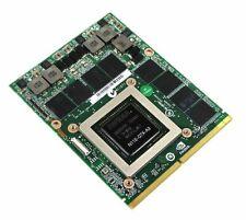 nVIdia GeForce GTX 480M 2GB GDDR5 N11E-GTX-A3 MXM 3.0 Graphics Video Card Tested