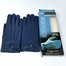 Berkshire Equalizer One SZ Blue Mens Stretch Gloves 3M Thinsulate Suede New