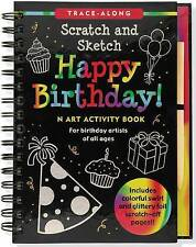 Happy Birthday! Scratch & Sketch (An Art Activity Book for Birthday Artists of A