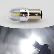 2pcs White 1157 BAY15D 6 LED Auto Car Front Rear Parker Turn Reverse Light Bulbs