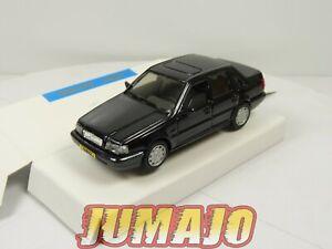 DIV19 VOITURE 1/43 EPE Holland : VOLVO 460 Turbo Noir (blister d'époque)