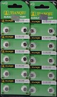 20 LR60 AG1 364 LR521 165 1.5V Alkaline Battery Watch Exp 2021 USA SHIP
