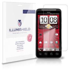 iLLumiShield Anti-Bubble/Print Screen Protector 3x for Virgin Mobile HTC EVO V