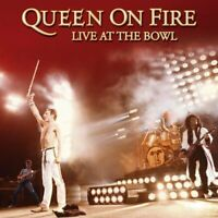 Queen - Queen On Fire - Live At The Bowl - Queen CD AAVG The Fast Free Shipping