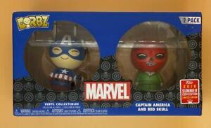 Marvel Captain America & Red Skull SDCC 2018 US Exclusive Dorbz 2Pack