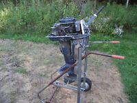 GB1R12364 Vintage Antique Elgin Sears 1956 12 HP 571.58921 Parts Motor