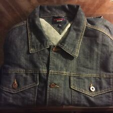 VINTAGE Tommy Jeans Denim Jacket Size Adult Large Denim Coat Blue 90s