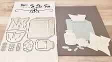 Dies...to die for metal cutting craft die Tissue Box & Medication