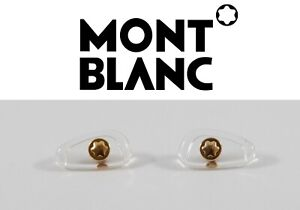 Mont Blanc Eyeglasses Sunglasses Original Replacement Screw-in Nose Pads GOLD