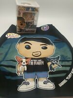 Gabriel Fluffy Iglesias Signed Funko White Exclusive Hologram And 2XL Shirt