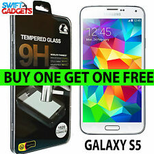 100% Genuine Tempered Glass Screen Protector Protection for Samsung Galaxy S5