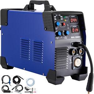 MIG-200 3 en 1 Électrique Poste à Souder 220V IGBT Inverter Soudure Machine