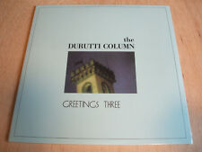 """durutti column greetings thee 4 track vinyl 12"""" ep 2017 issue mint / sealed"""