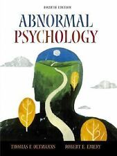 Abnormal Psychology by Thomas F. Oltmanns and Robert E. Emery (2003, Hardcover)